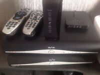 Sky HD boxes /remotes/router