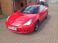 TOYOTA CELICA VVTI COUPE (05) BLACK LEATHER TRIM, SERVICE HISTORY, HPICLEAR.