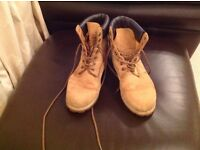 Men's Timberland boots size 11.5