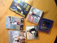 Cliff Richard collection of DVD's and CD's