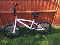 Girls pink bmx bike rhino good condition
