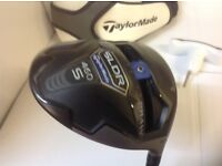 Taylormade SLDR S driver adjustable draw or fade