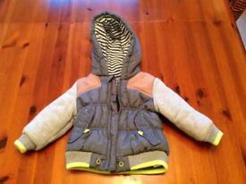 Baby boys coat 6-9 months