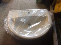 New bathroom basin. Still packaged. Bargain!