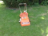 Lawn mower with collection box Flymo