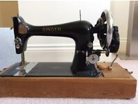 Singer sewing machine. Old but not antique!