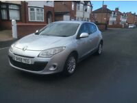 2009 Renault Megane 1.5 expression diesel 5dr hatchback manual new shape full service history £2495