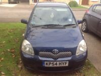 toyota Yaris 54 plate. MOT till may 18. Recent New clutch breaks and battery