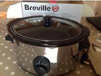 Breville 4.5litre slow cooker - hardly used excellent condition