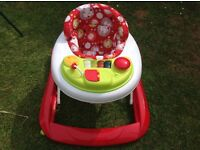 Red Kite baby go round jive electronic baby walker