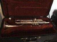 Besson 1000 Silver Trumpet