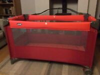 'Jane' Full cot size Travel Cot bed. Excellent condition for baby/child