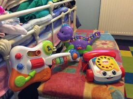 Three baby toys