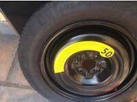 Renault captur spare wheel