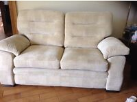 Sofa two seater Marks and Spencer Cream