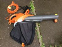 AS NEW LATEST MODEL FLYMO 3000W SCIROCCO GARDEN VACUUM LEAF BLOWER