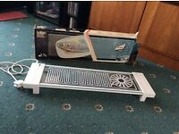 Salton electric hot plate unit/plate warmer