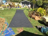 Rubber pond liner 1.7m x 9.5m NEW