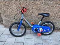 Boys toddler first bike