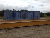 Steel office container - 32' x 12