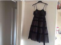 Ladies black size 12 evening/prom dress