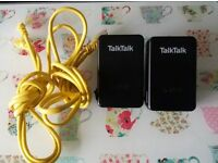 TALK TALK POWERLINE ADAPTORS & CABLES