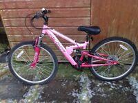 Pink Apollo FS24 Mountain Bike
