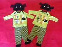 Twin Boys halloween outfit 0-3