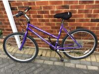 Ladies or girls bike in good condition 15 gears would suit someone from 4foot to 5foot4