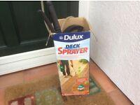 Decking sprayer