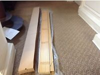 BRAND NEW WOODEN BLIND 7 ft wide