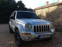 Jeep crd 2.8 auto limited top spec
