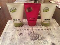 DKNY x3 100ml Body Lotions
