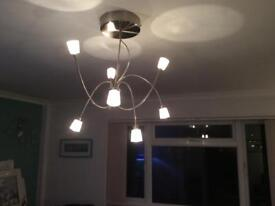 Ikea lamps, ceiling, wall and standard lamps