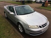Low miles Saab 9-3 Convertible