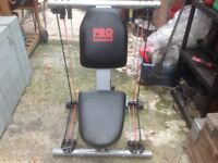 Pro power resistance trainer
