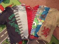 Bundle of boys t-shirts aged 2-3yrs