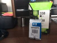 HP Ink Cartridge, Black No 338 Brand new, used one of a double pack.