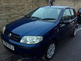 FOR SALE MY FIAT PUNTO 1,2 ONLY 70.000 MILES LONG MOT DRIVES WELL IDEAL FIRST CAR !!!!