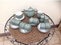 Denby regency green tableware.
