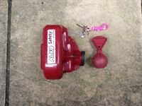 Alko Caravan Hitch Lock with safety ball