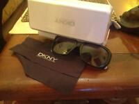 DKNY ladies sunglasses & case
