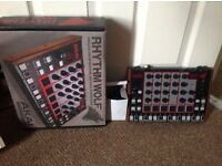 Akai Rhythym Wolf Analogue Drum machine & Bass synth