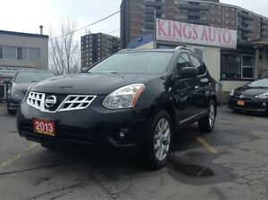 2013 Nissan Rogue SL, AWD, NAVI, BACK-UP CAM, SUNROOF, LEATHER