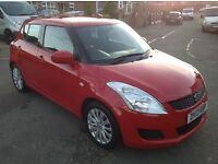 Suzuki Swift sz3, 2013,5 door,Mot 13 Nov 2017.