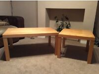 Two IKEA coffee tables
