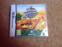 Nintendo DS game- brand new in packaging. Amazing Adventures- The Forgotten Ruins.