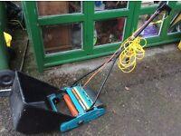 Scarifier/lawn rake/sweeper