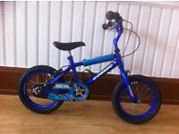 "Boys bike - fully refurbished 14"" Cosmic - suitable for 4-6 year olds"
