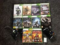 Xbox 360 console in good working order , comes with two genuine Xbox controllers